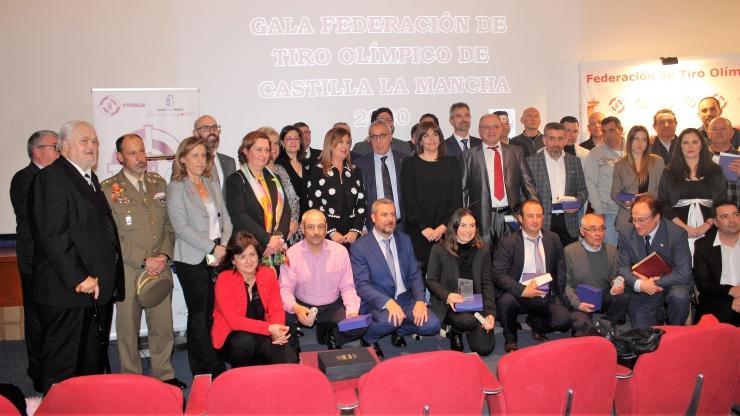 Gala Federación de Tiro Olímpico de Castilla La Mancha 2020.