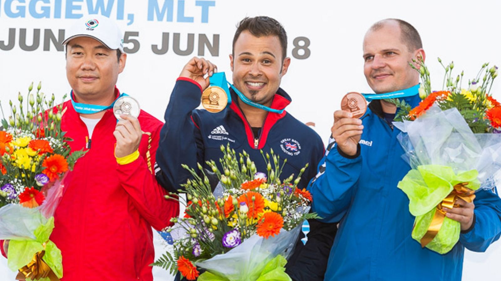 ISSF World Cup Senior en Siggiewi (Malta).