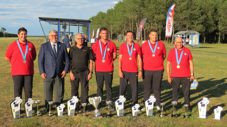 48º Campeonato de Europa FITASC - Final Copa Europa Beretta Foso Universal en Ychoux, Francia.