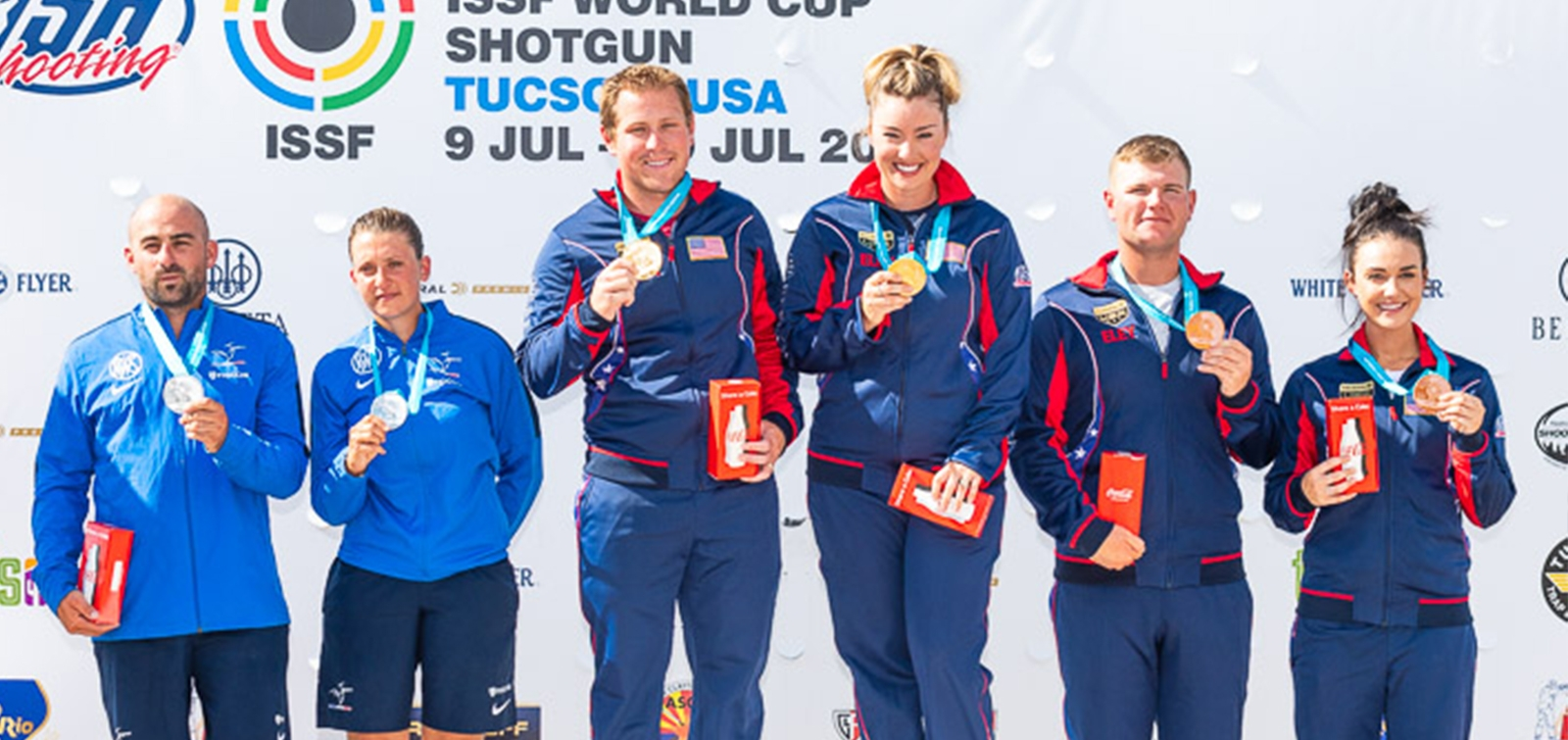 ISSF WORLD CUP TRAP EQUIPOS MIXTOS EN TUCSON (USA)