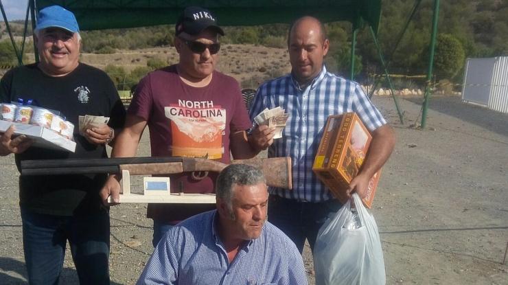 Gran Tirada al Plato M.F en Tíjola, Almería.