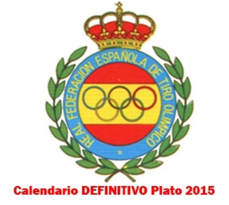 Calendario DEFINITIVO Plato 2015