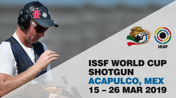Copa del Mundo ISSF Seniors Foso Olímpico en Acapulco (México)