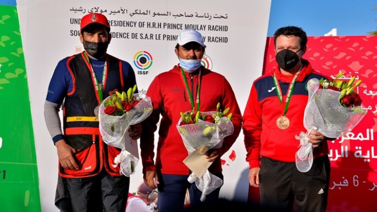 Grand Prix ISSF Skeet en Marruecos.