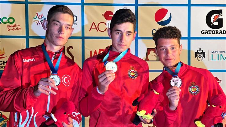 Campeonato del Mundo ISSF Junior Foso Olímpico en Lima (Perú)