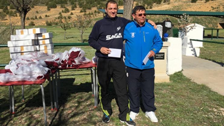 Tiro al Plato Tirada del Trabajador F.U. en Utrillas (Teruel)