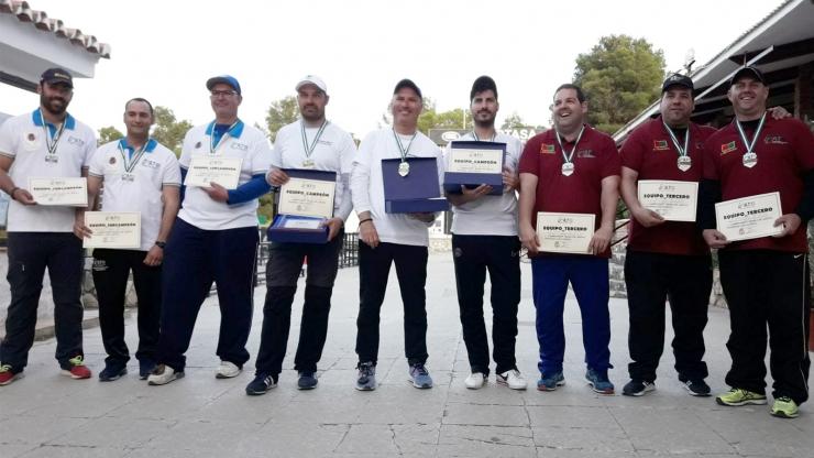 Campeonato de Andalucía  Equipos Provinciales F.O en Alhaurín de la Torre (Málaga)