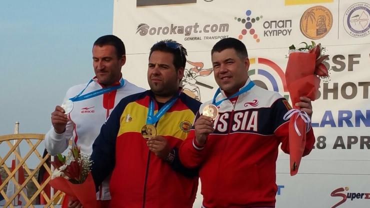 Copa del Mundo Foso Olímpico ISSF en Larnaca