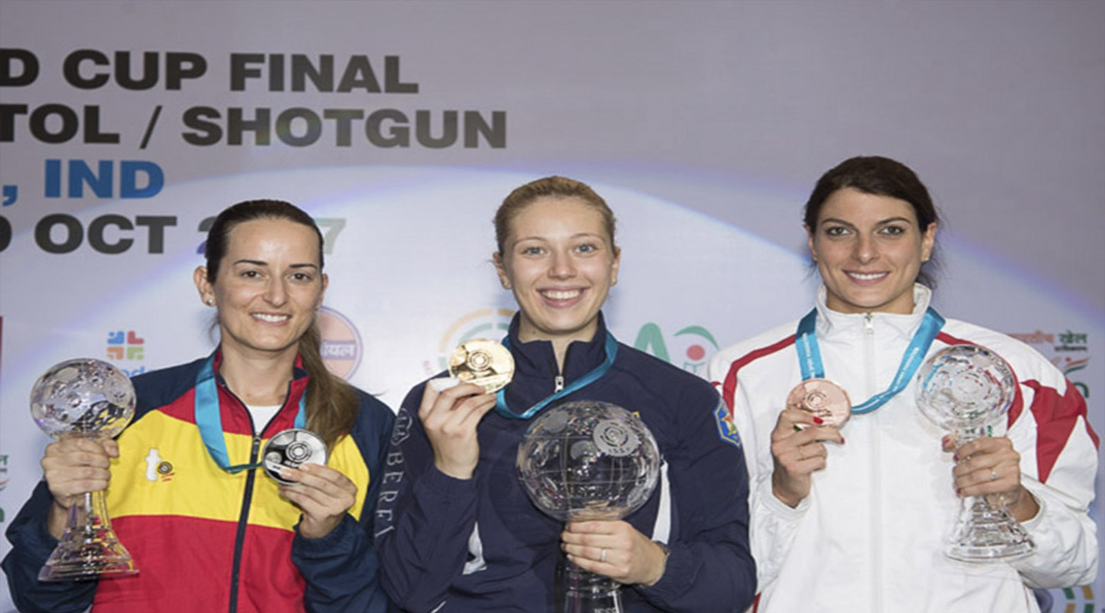 Final Copa del Mundo ISSF Damas en Nueva Deli (India)