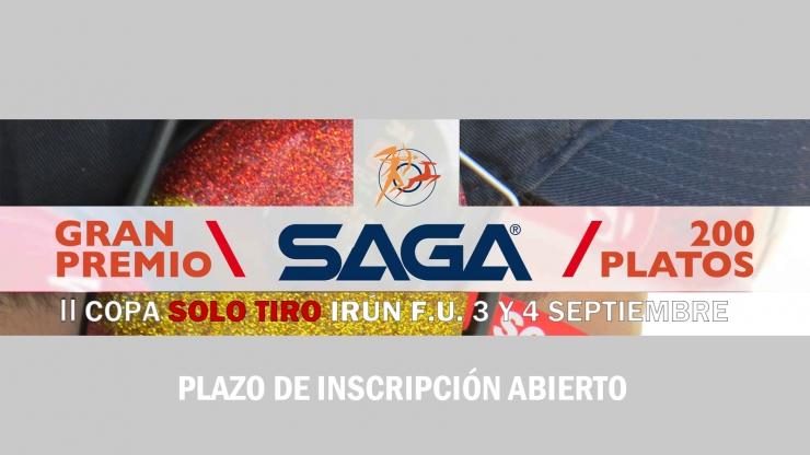 II Copa SOLO TIRO Irún F.U. Gran Premio SAGA