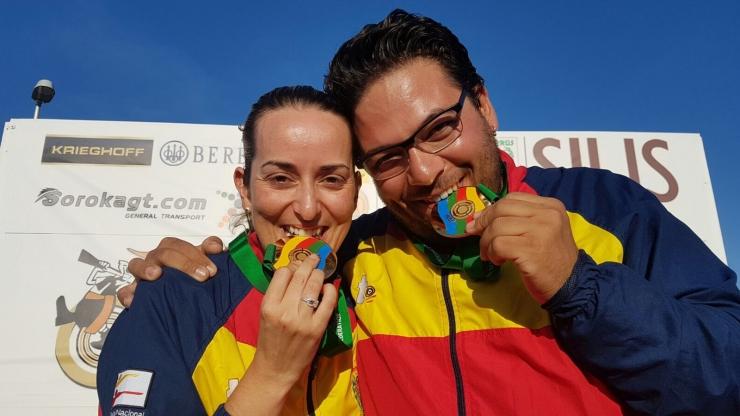 Copa del Mundo ISSF Trap Mixtos en Larnaca (Chipre)