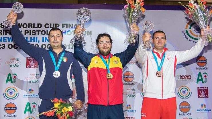 Final Copa del Mundo ISSF Seniors en Nueva Deli (India)