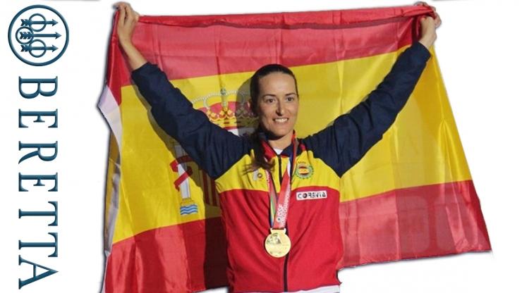 Fátima Gálvez nuevo fichaje de Beretta para el próximo ciclo olímpico.