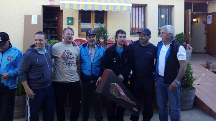 Tirada Pólvora y Jamón  Foso Universal en Monzón (Huesca)