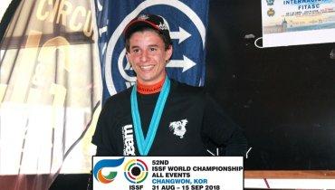 Campeonato del Mundo de la ISSF F.O. Junior Masculino en Changwon (Korea)