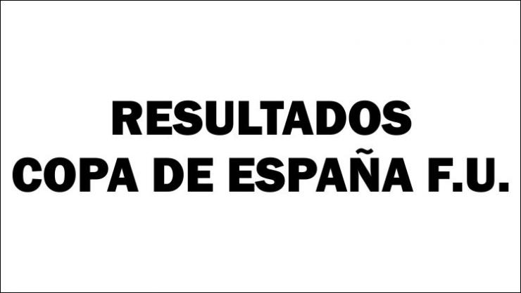 Resultados Copa de España F.U.