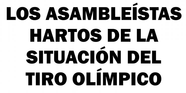 EL TIRO OLÍMPICO, LA CRUZ DE LA NUEVA CARA QUE EL CSD QUIERE DARLE AL DEPORTE.