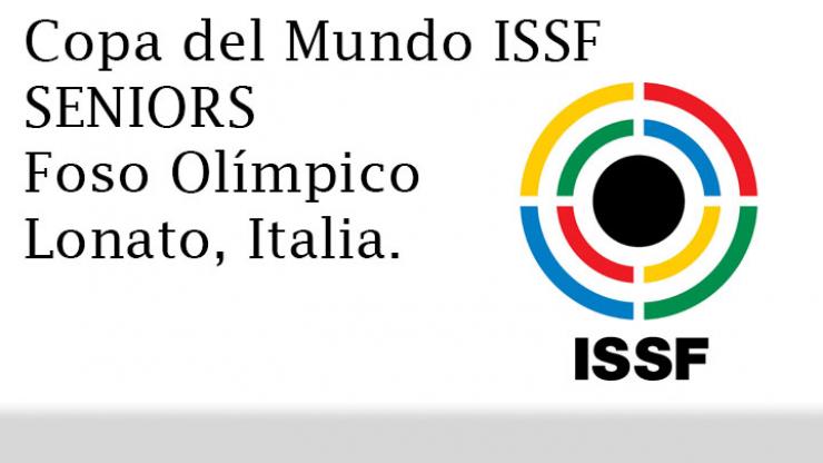 Copa del Mundo ISSF Seniors F.O. en Lonato (Italia)