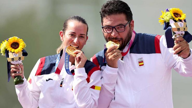 Alberto Fernández y Fátima Gálvez son de Oro. Primera medalla de Oro para España.