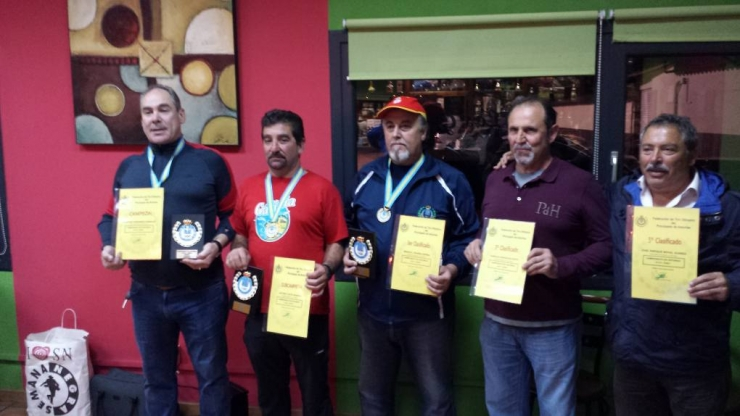 Campeonato de Asturias M.F 2015 en Gijón.