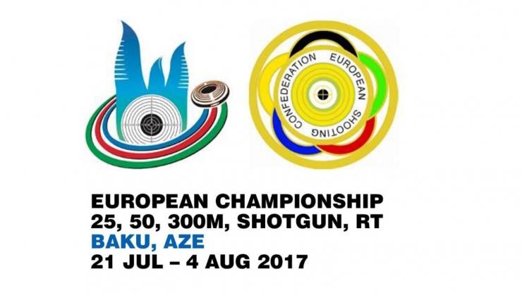 Campeonato Europeo Foso Olímpico 2017 en Baku, Azerbayan.