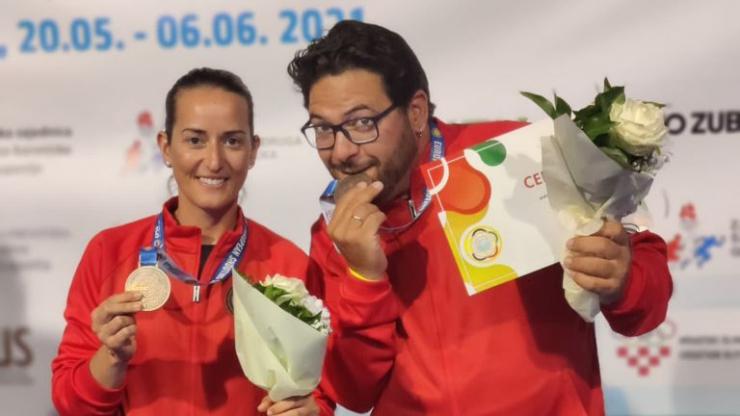 Campeonato Europeo ESC F.O. equipos Mixtos en Osijek