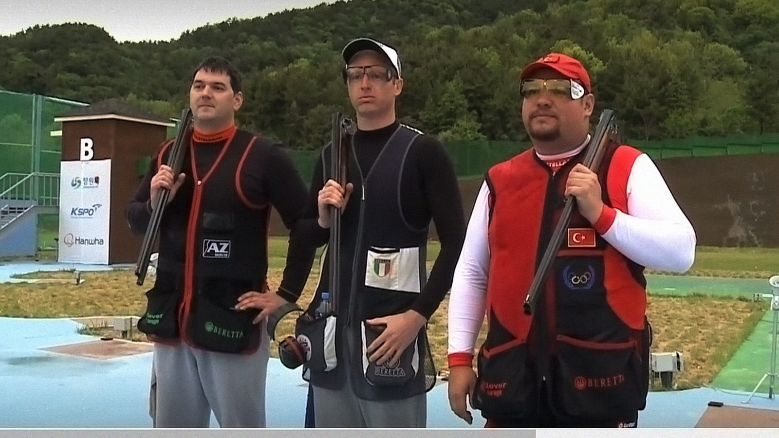 ISSF World Cup Trap Men F.O. en Changwon (Corea del Sur)