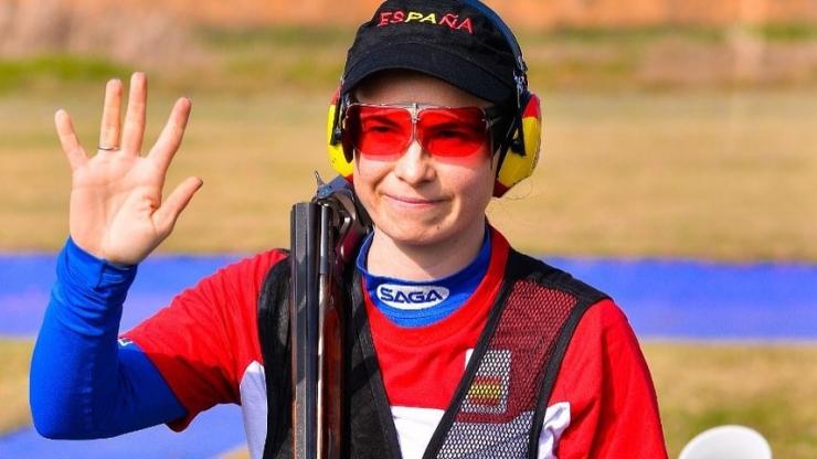 Beatriz Martínez medalla de plata en el Grand Prix ISSF Foso Olímpico en Rabbat (Marruecos)