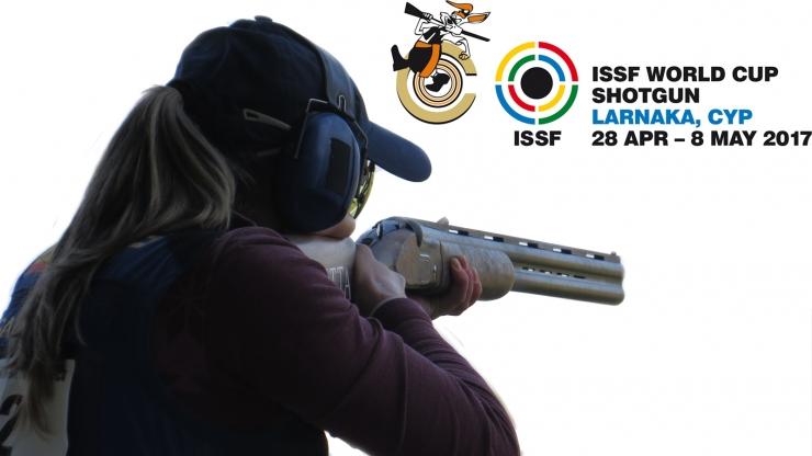 Copa del Mundo Damas Foso Olímpico ISSF en Chipre