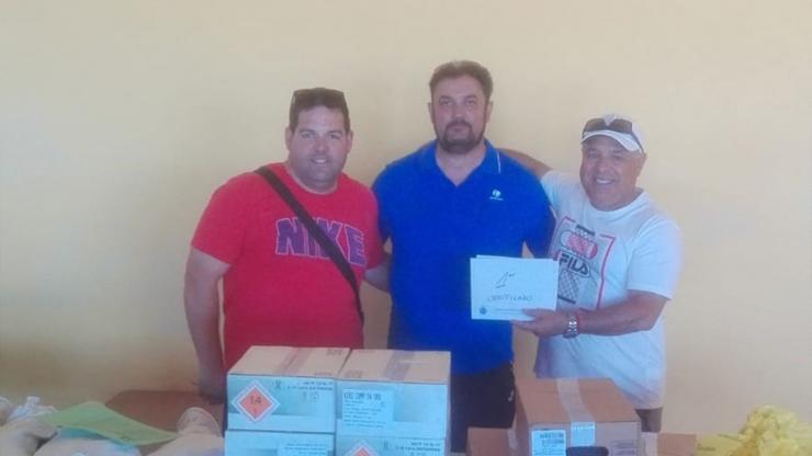 Tirada Club Tiro al Plato Granada F.O. en Las Gabias (Granada)