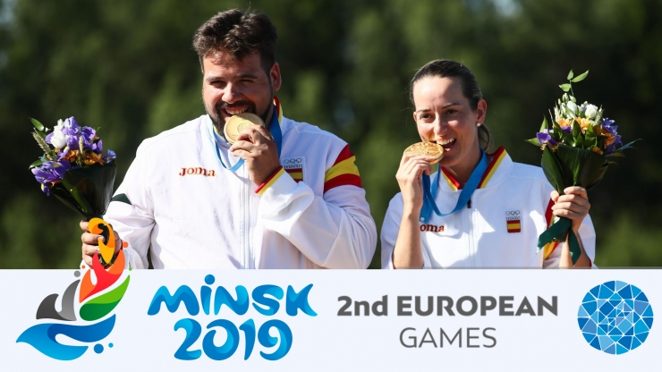 Equipos Mixtos 2º Juegos Europeos en Minsk 2019 F.O.