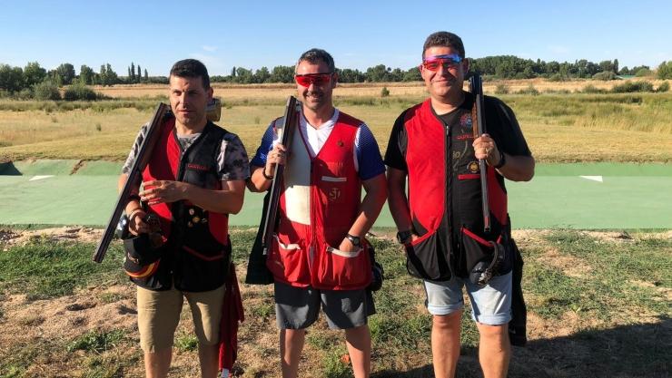 Primer Trofeo Alabarda de Foso Olímpico en Ventosa del Río Almar (Salamanca)