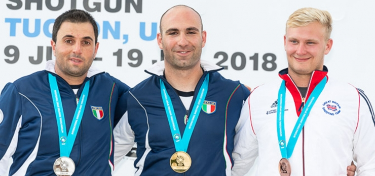ISSF WORLD CUP TRAP MEN EN TUCSON (USA)