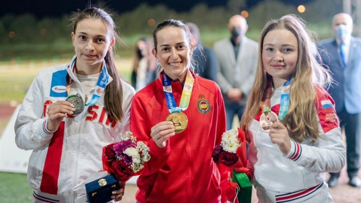 Fátima Gálvez medalla de Oro en Egipto