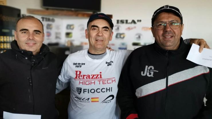 Tirada de Febrero F.U. en Club de Tiro La Isla, Azután (Toledo)