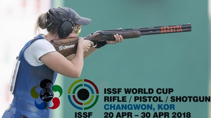 ISSF World Cup F.O. en Changwon (Korea del sur)