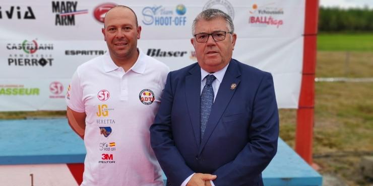 Francisco Cebrián Chacón tercer clasificado y José Manuel Alonso vencedor en Seniors en el 37º Campeonato del Mundo F.U. en Ychoux