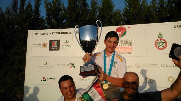Campeonato del Mundo de Foso Universal en Marrakech, Marruecos.