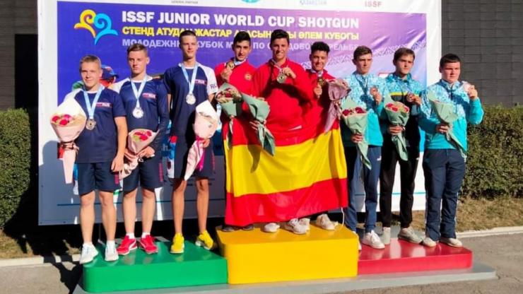 Campeonato del Mundo Equipos Masculinos F.O. en Almaty (Kazajistán)