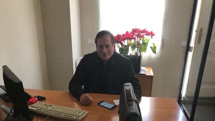 Miguel Francés Presidente de la RFEDETO se dirige a los Asambleístas