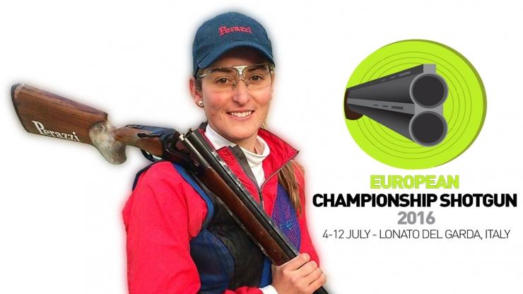 European Championship Shotgun Damas en Lonato, Italia.